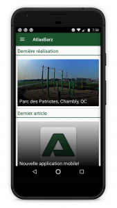 Application mobile Conception Programmation