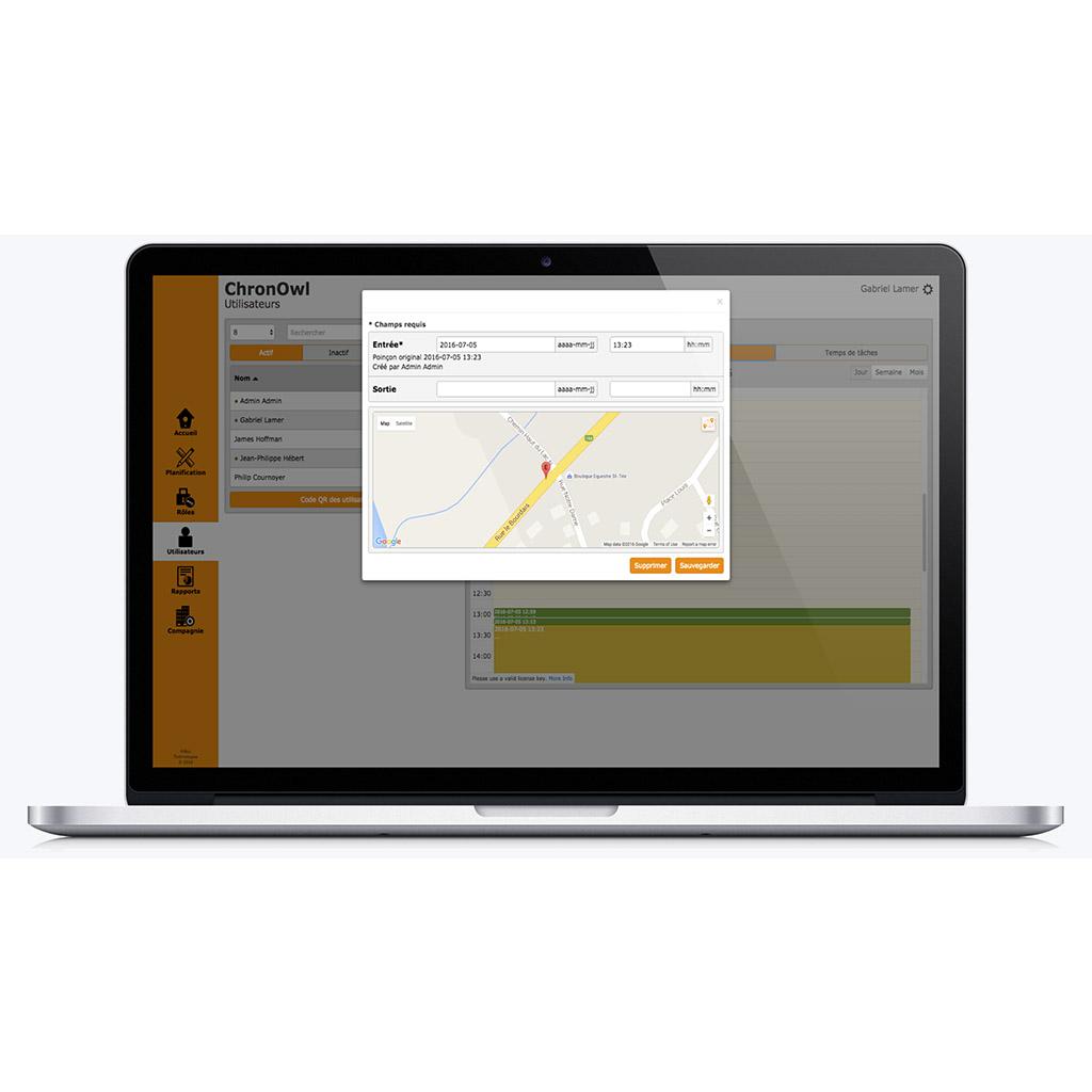 Projet de consultant logiciel avec HiBou Technologies