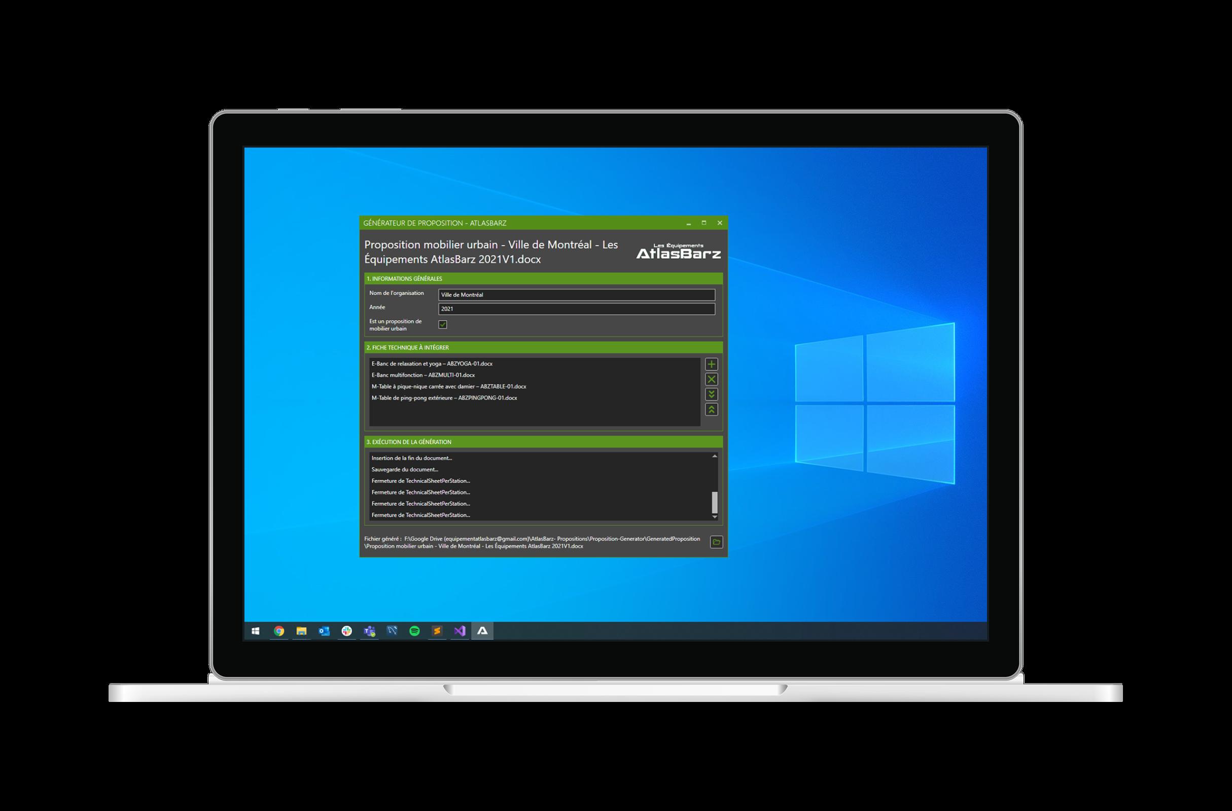 Développement logiciel Windows Agence de programmation DevActif 1